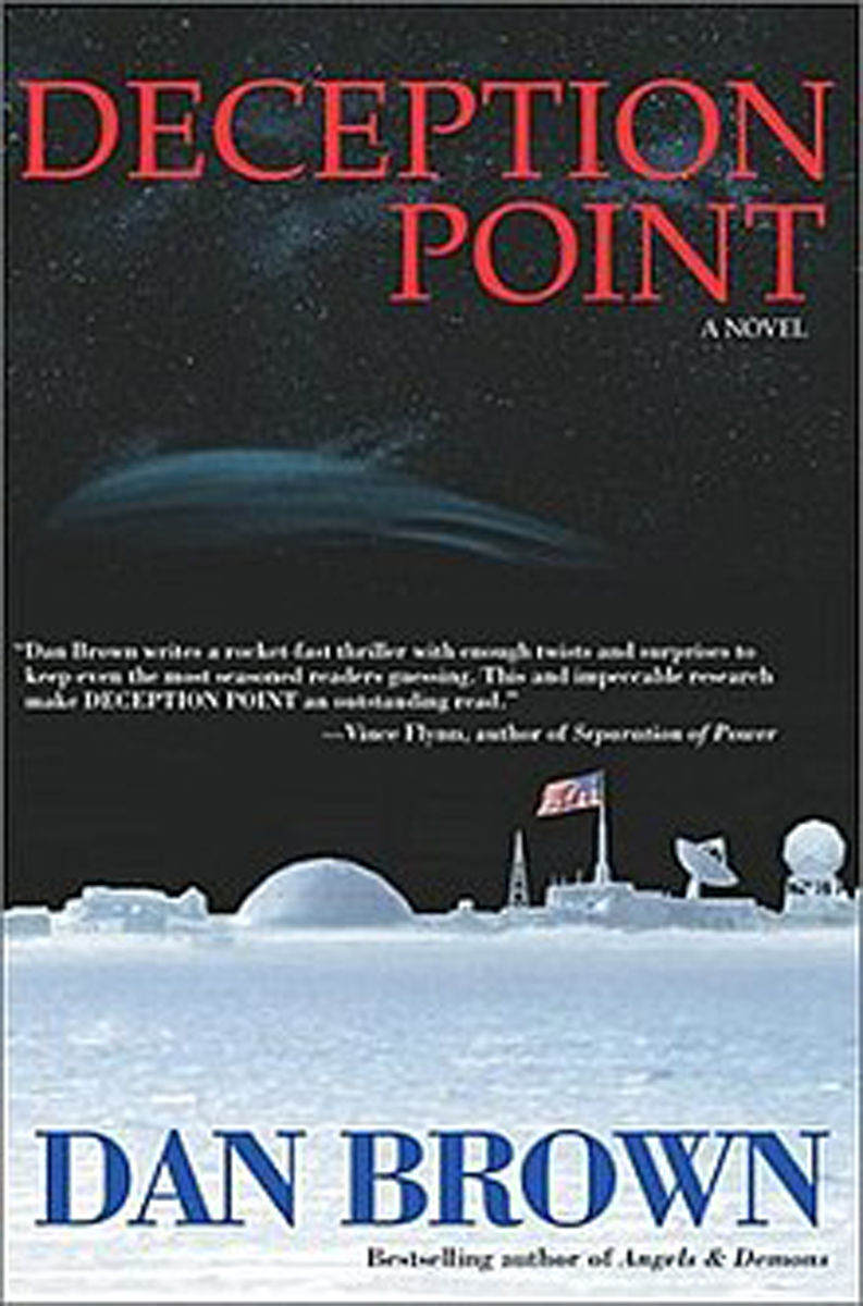 """Deception Point"" by Dan Brown"