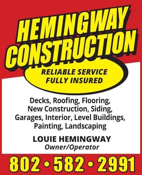 Hemingway Construction