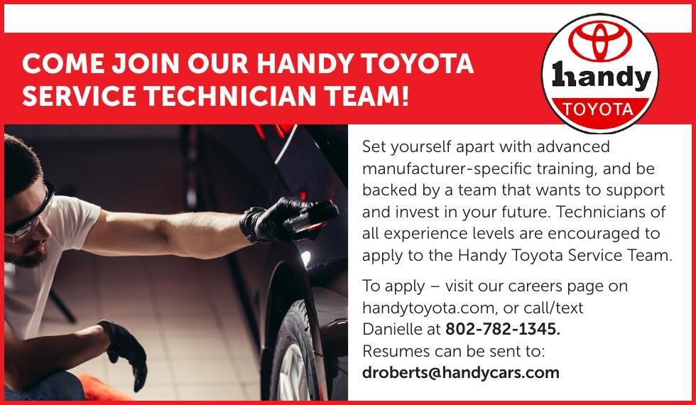 Handy Toyota - Service Technicians