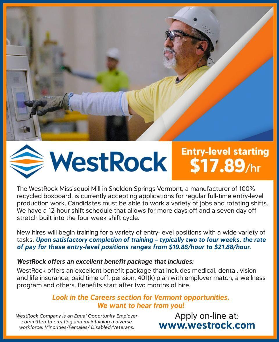 Westrock is Hiring!