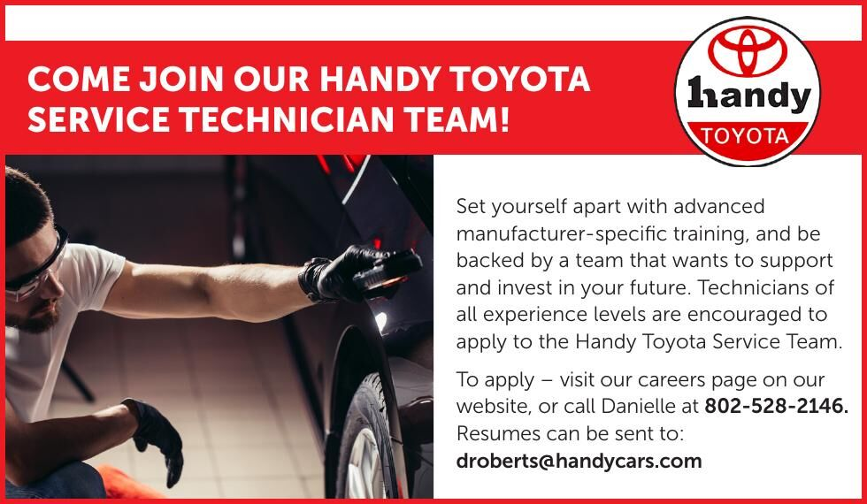 COME JOIN HANDY TOYOTA