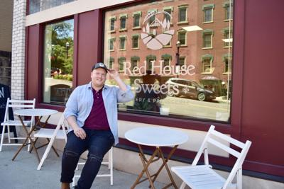 Devin Kuhn, owner of Red House Sweets