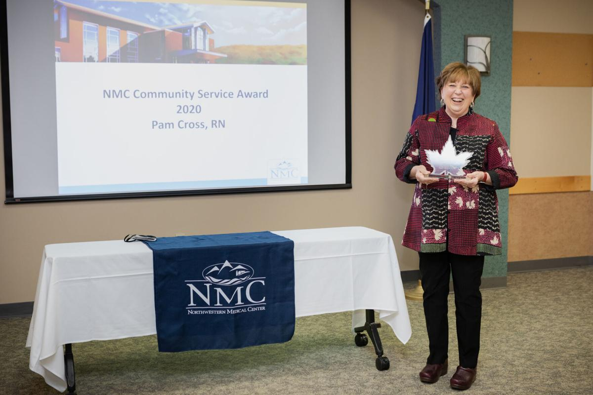 Pam Cross community service award
