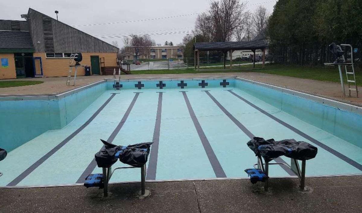 The swim lanes
