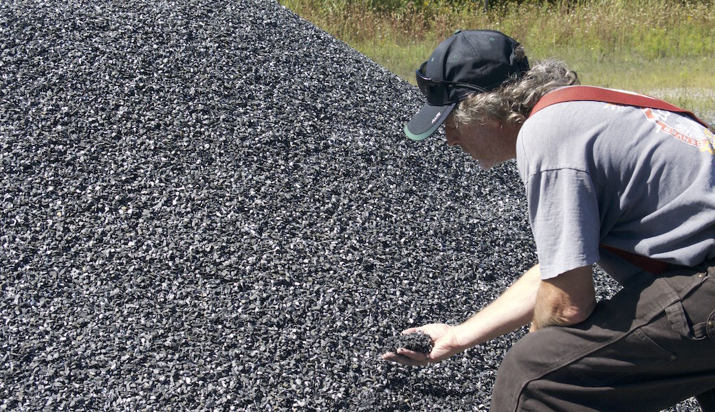 A dusty solution for Vermont's waterways: Stones from Swanton could help stymie phosphorus