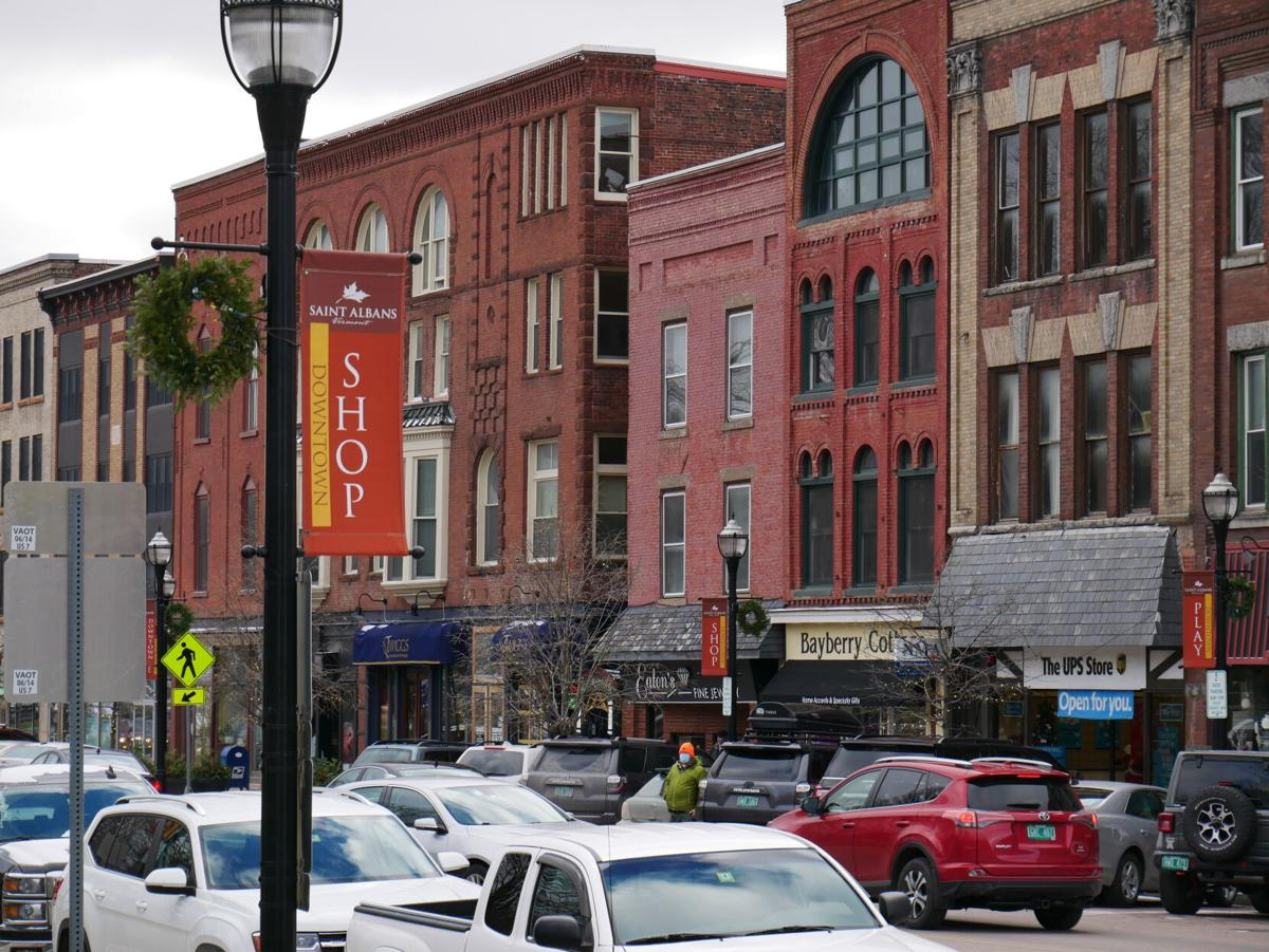 St. Albans Downtown, 11-24-2020