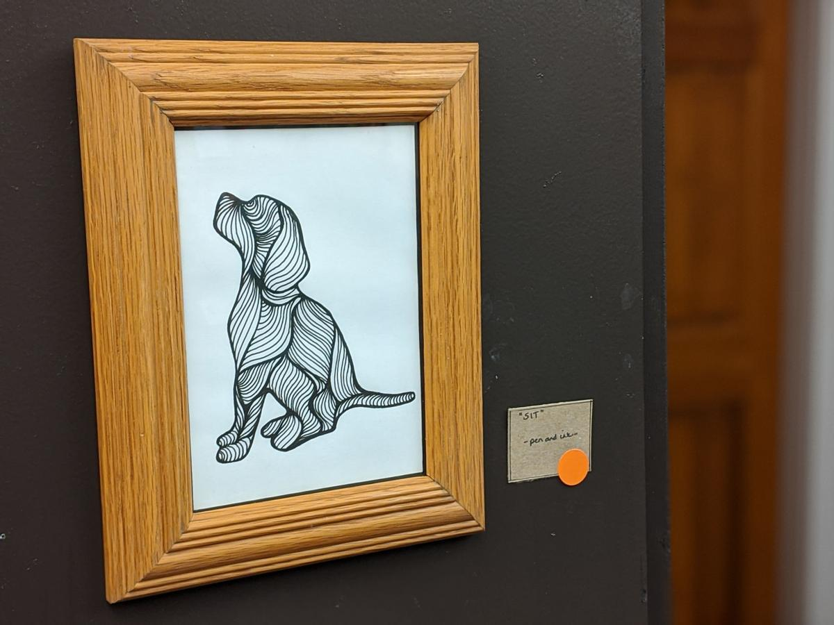 A doggone fine piece of art