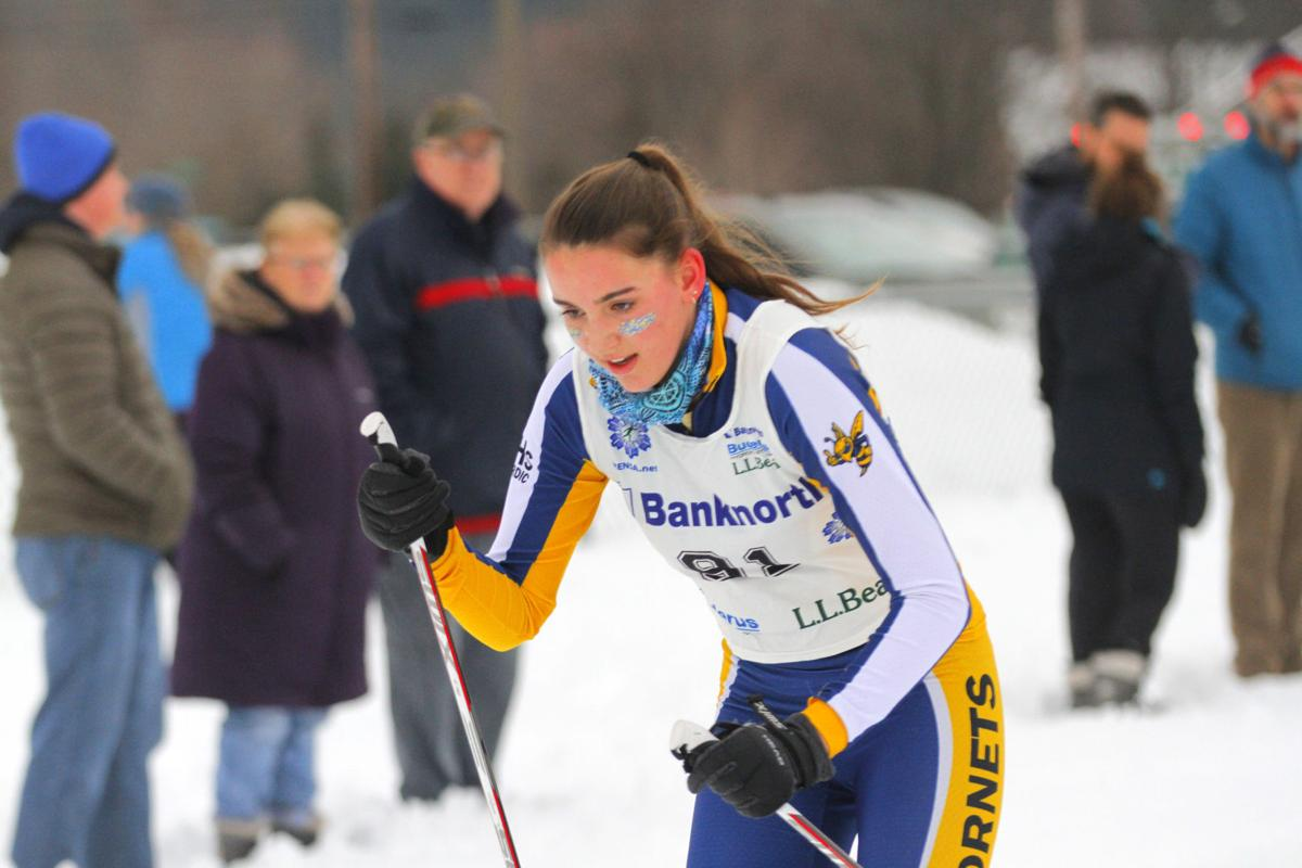 Hornets pair up for BFA Fairfax nordic relays