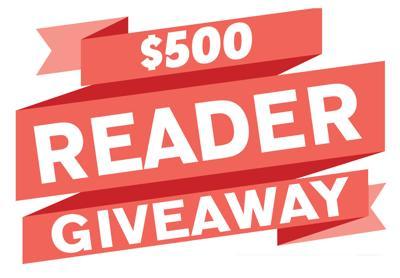 $500 Reader Giveaway!