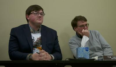 St. Albans Town Selectboard Chair Brendan Deso and St. Albans City Mayor Tim Smith, 2-10-2020