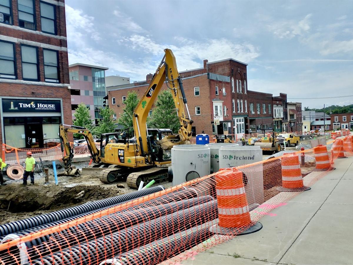 Construction on Kingman
