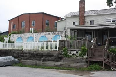 Marble Mill Park mural