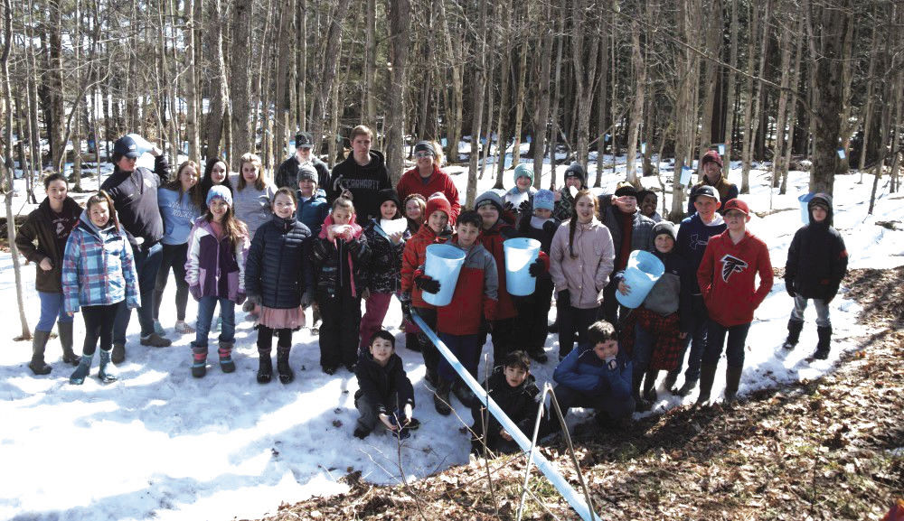 Berkshire Elementary School Sugaring, 3-20-2020-6