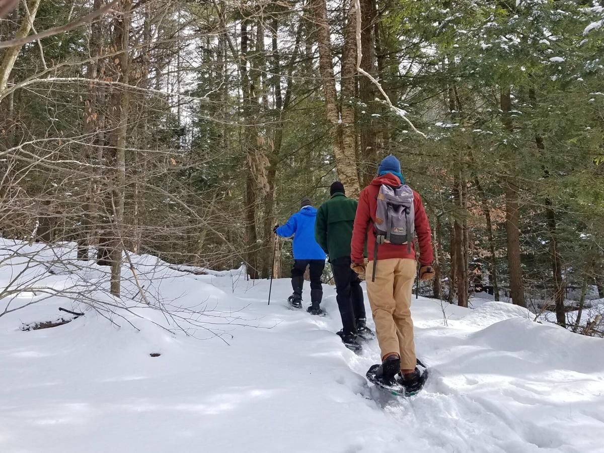 Peter A. Krusch Nature Preserve - snowshoe
