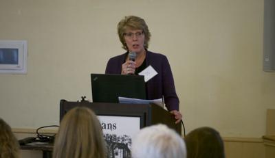 Kathy Lavoie addresses workforce development summit, 10-23-2019