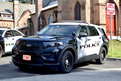 St. Albans City police cruiser