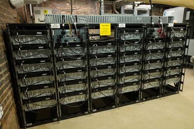 Statehouse battery backup power system