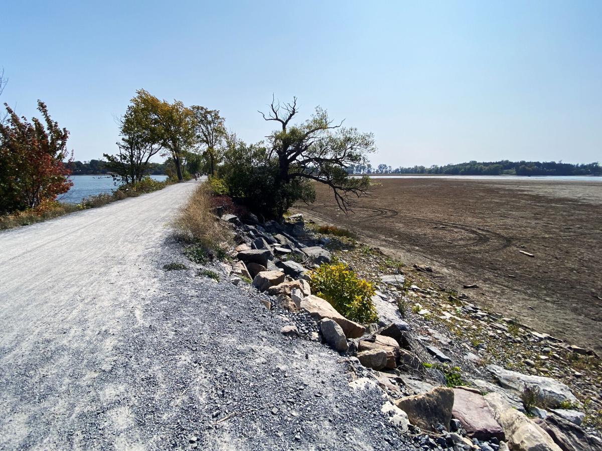 Causeway low water level