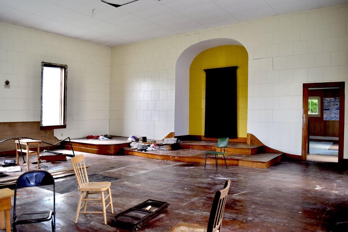 The chapel inside the West Enosburg United Methodist Church.JPG