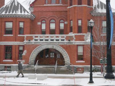 St. Albans City Hall, Snowstorm, 12-9-2020 (copy)