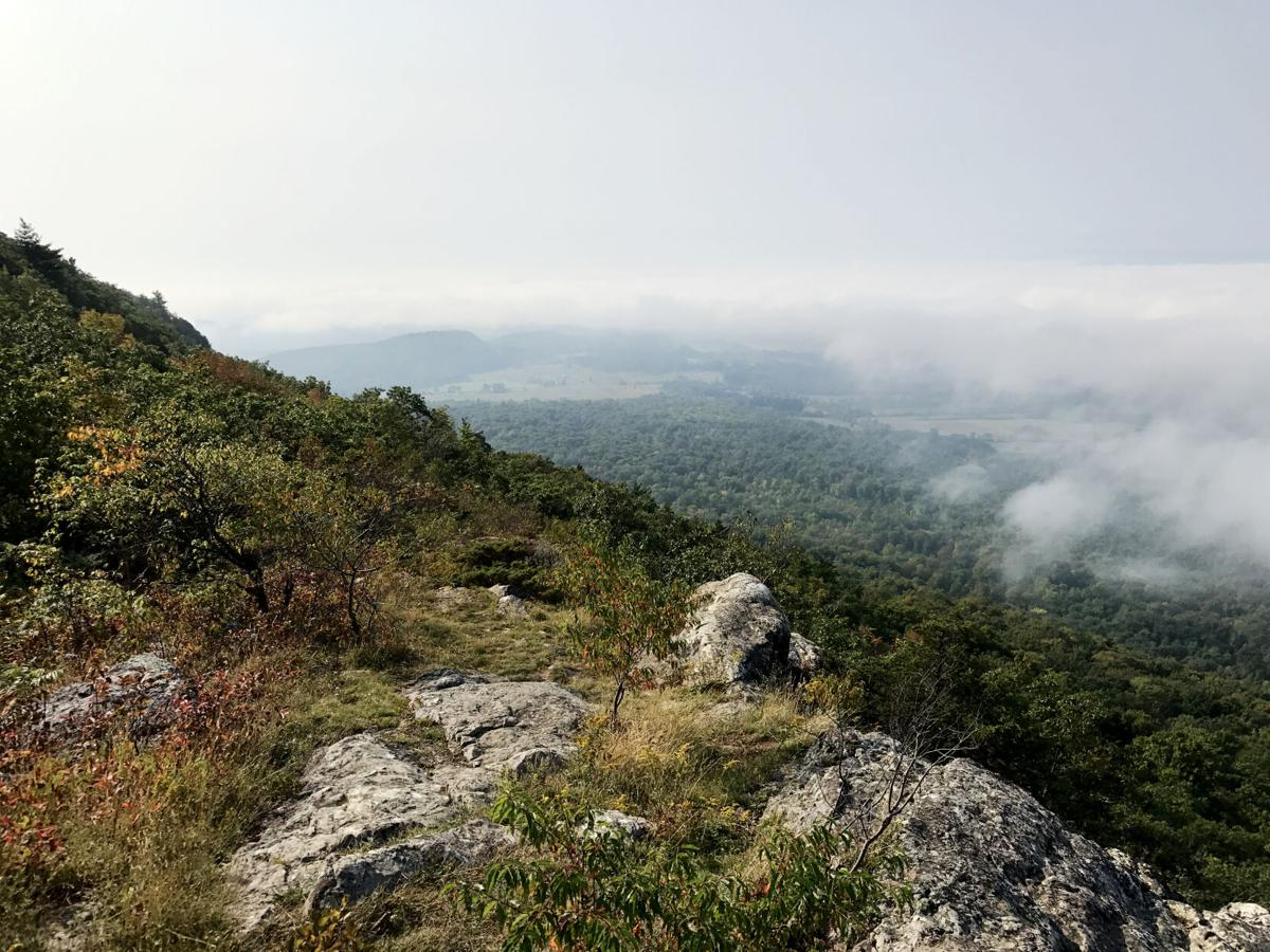 Snake Mountain clouds