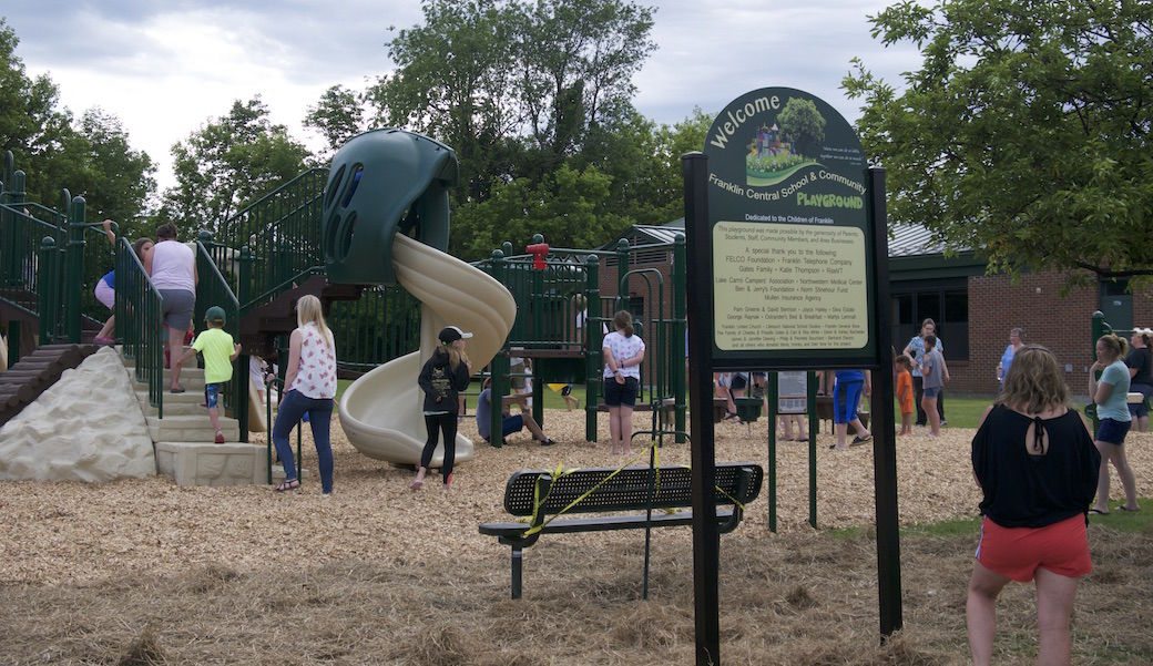 New playground for Franklin