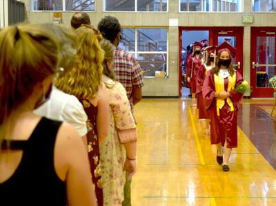 Richford High School graduation 9