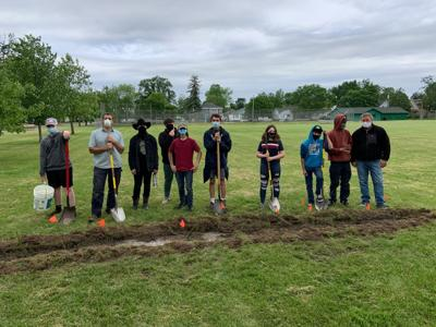 Tree planting crew