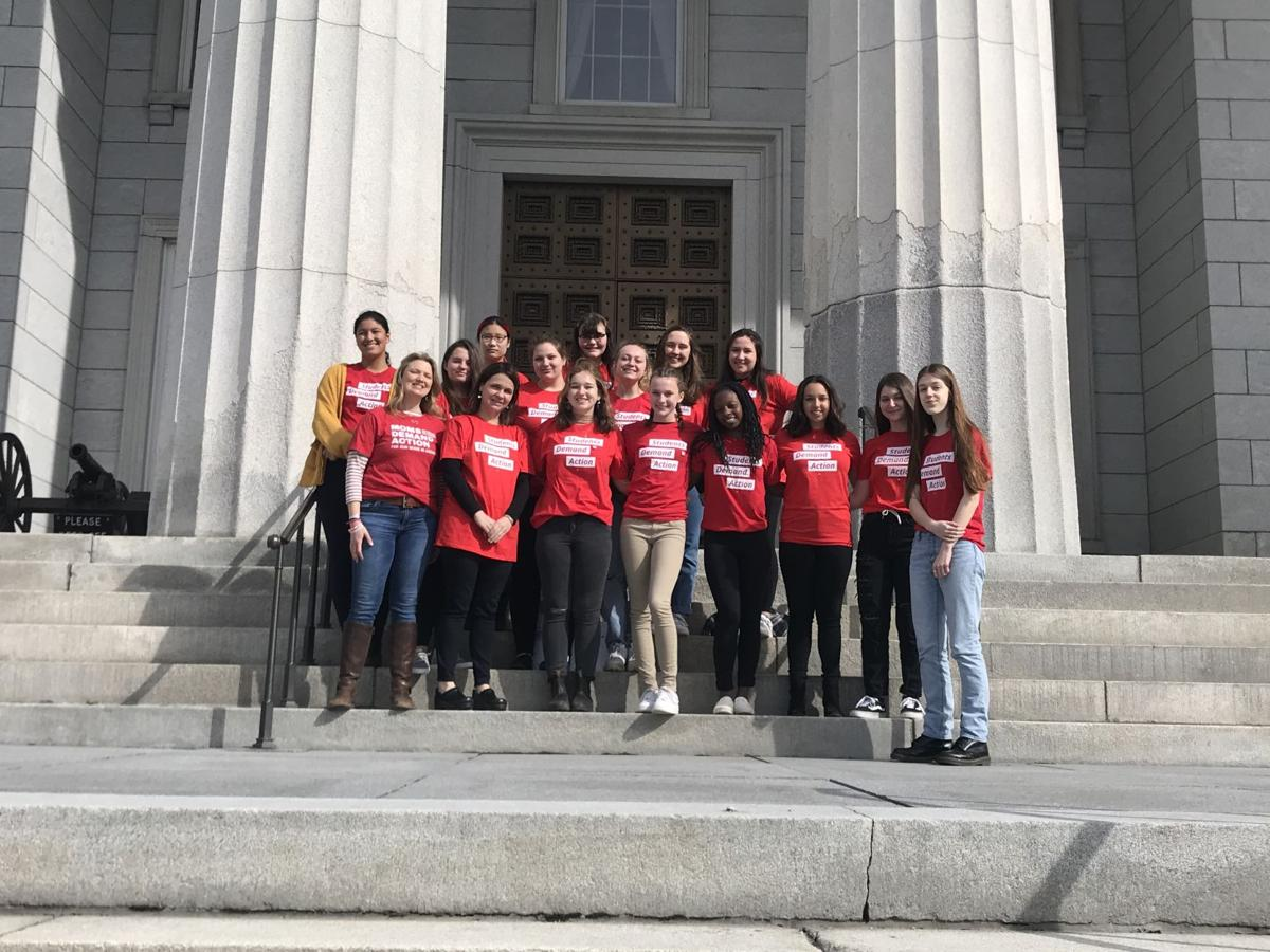 Students Demand Action visits Montpelier