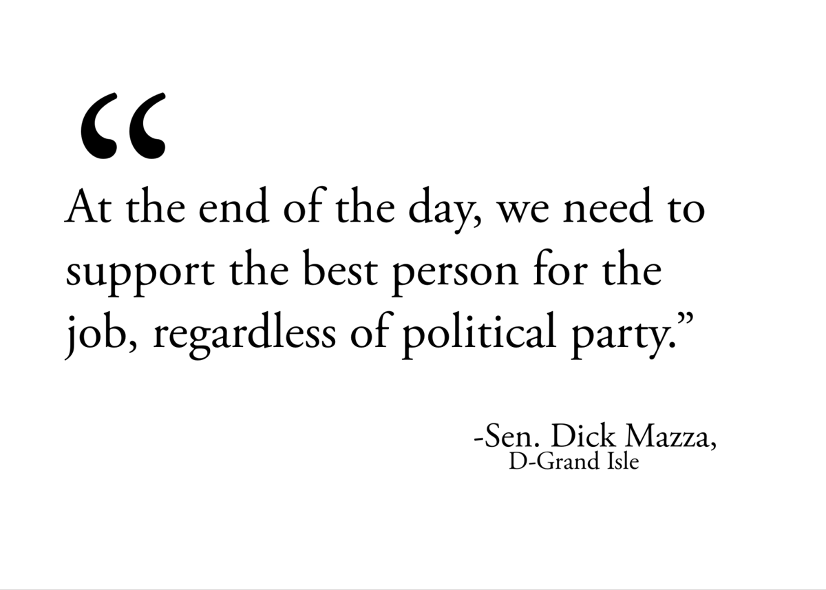 Sen. Dick Mazza LTE quote