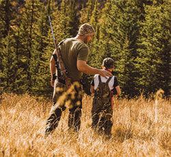Youth hunt generic image
