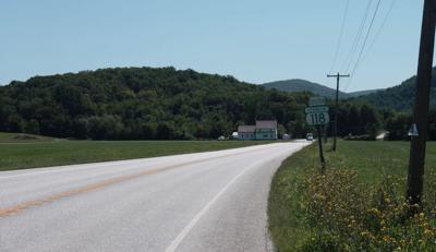 Route118 into Montgomery, 2019