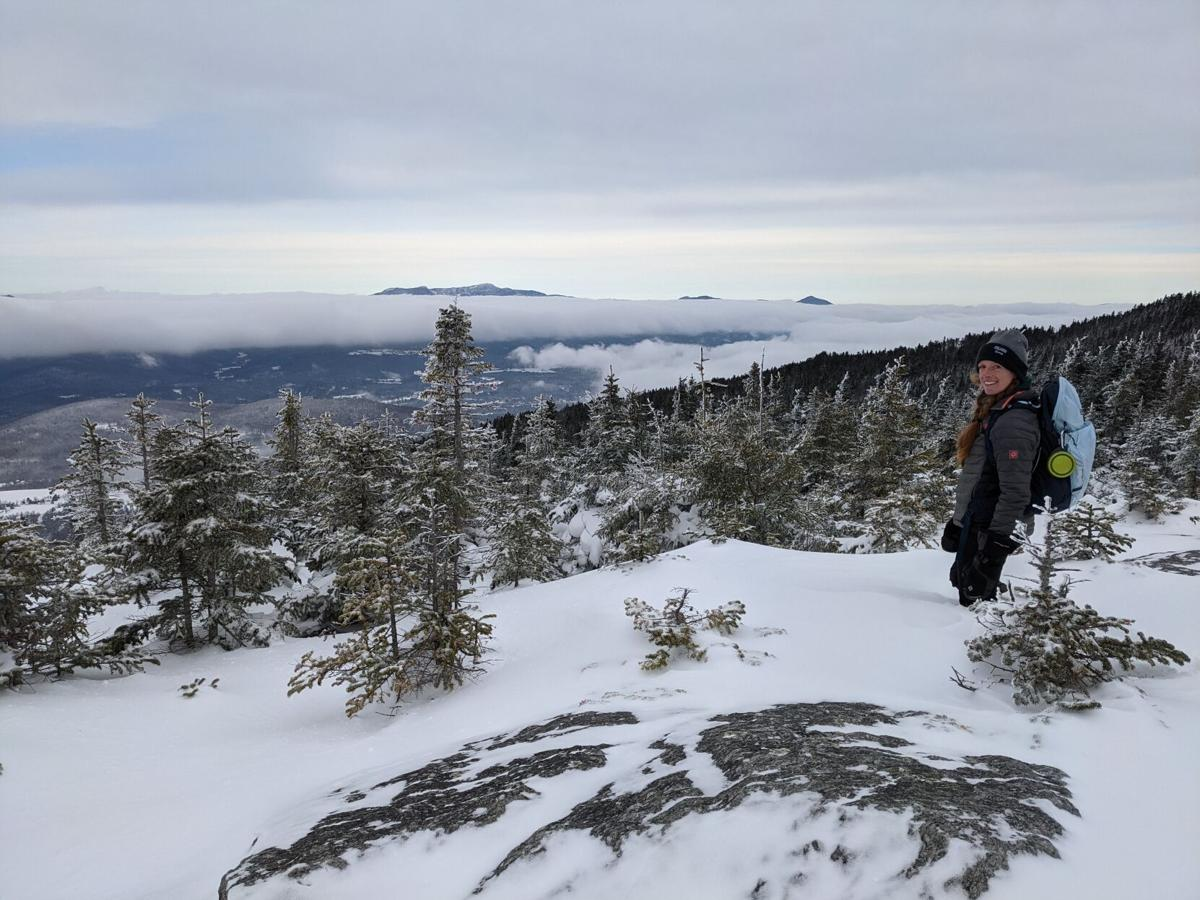 Ruthie on Mount Hunger