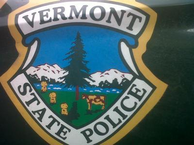 Vermont State Police Door Decal, 2012