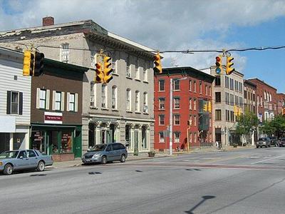 Downtown St Albans, VT