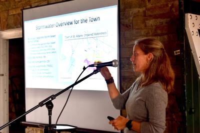 Stormwater overview for the town with Emmalee Cherington.JPG