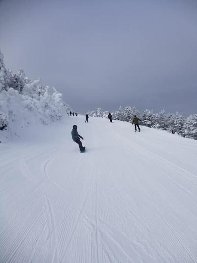 Jay Peak Snowboarder