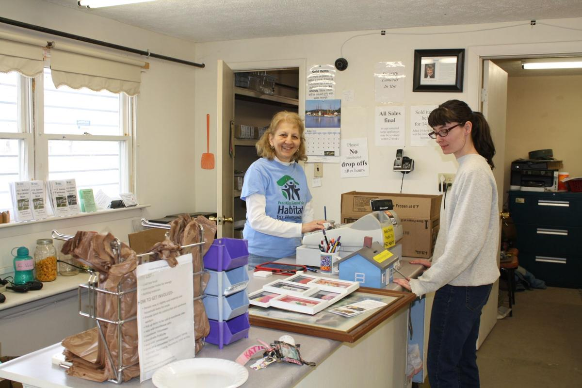 Habitat for Humanity store funds home construction