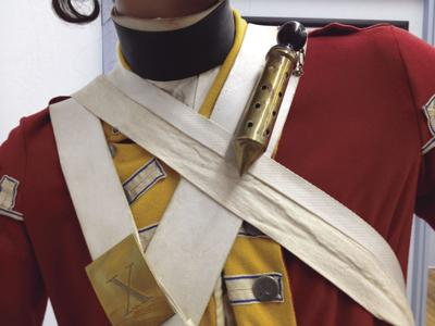 10th Regiment of Foot Soldier Uniform – 1775