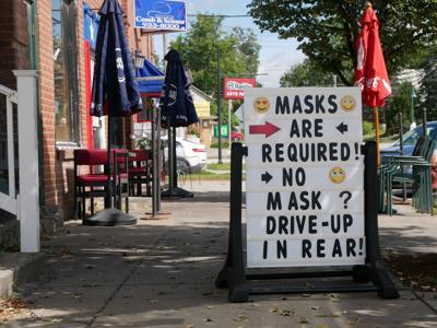 Community Bank, N.A., Enosburg Falls, face masks, 8-28-2020