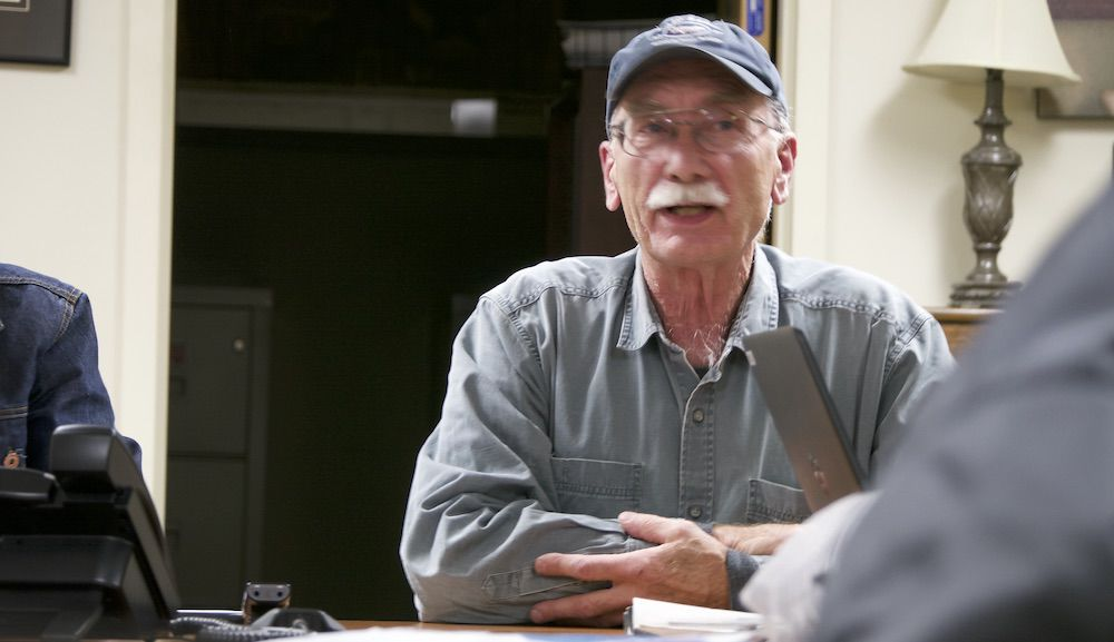 Georgia Conservation Commisioner Ken Minck, 12-9-2019