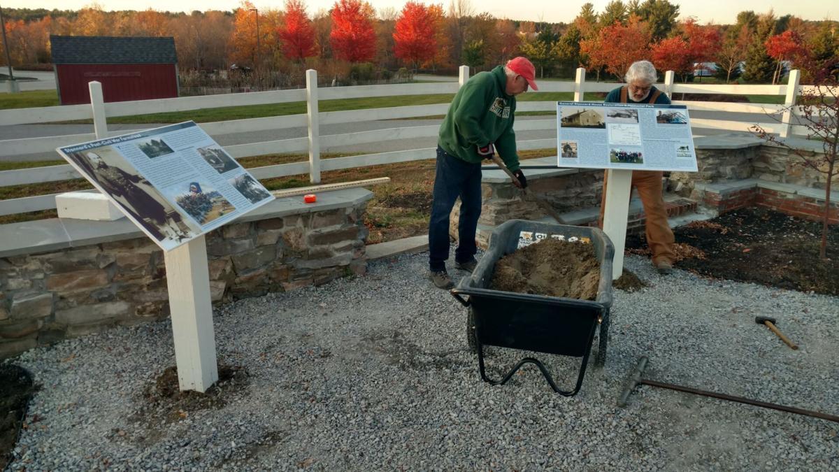General Stannard Memorial Park Construction