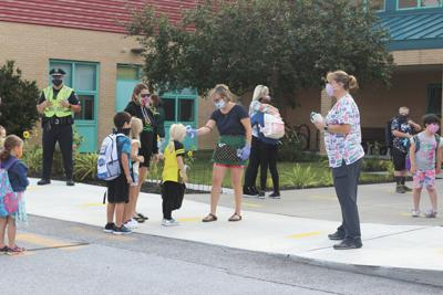 First Day of School, St. Albans Town Educational Center, 9-8-2020