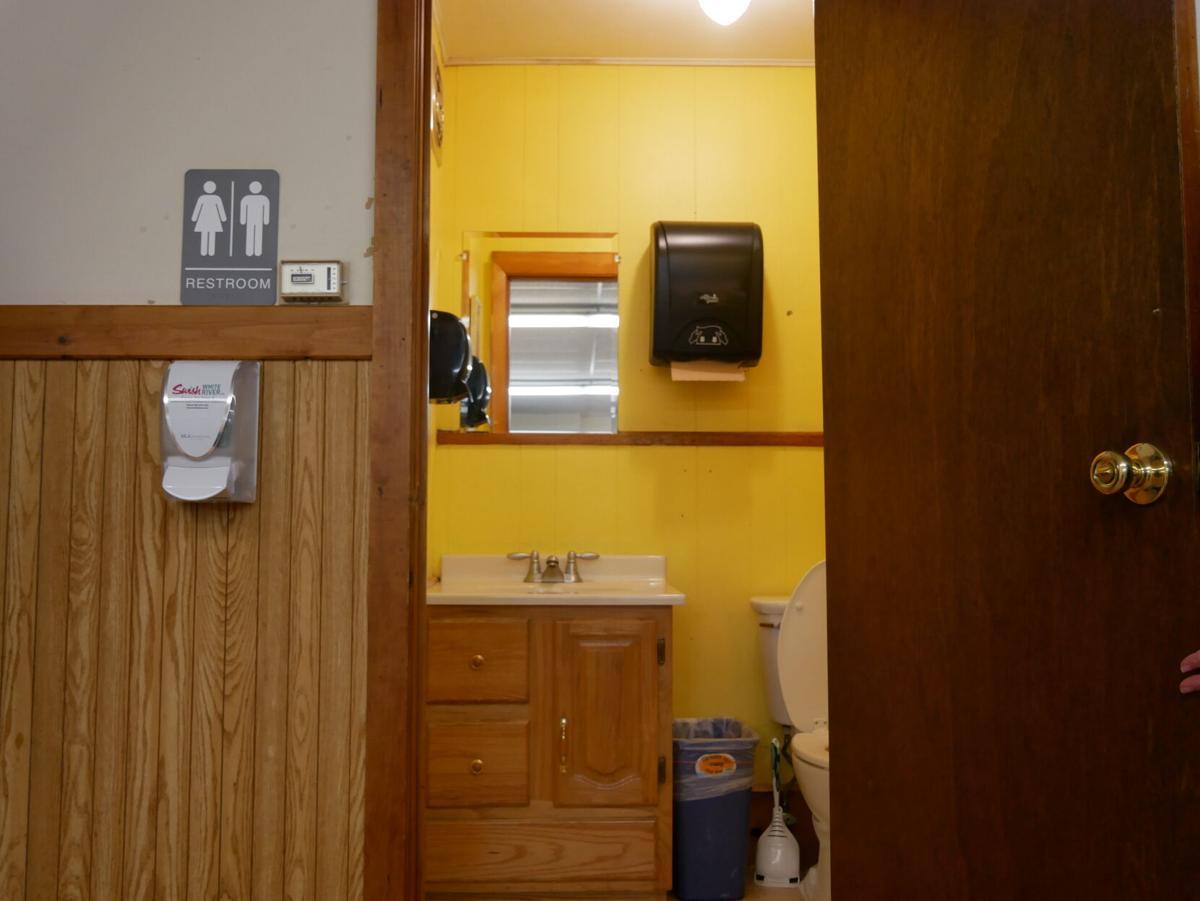 St. Albans Town Hall, Bathroom, 10-13-2020