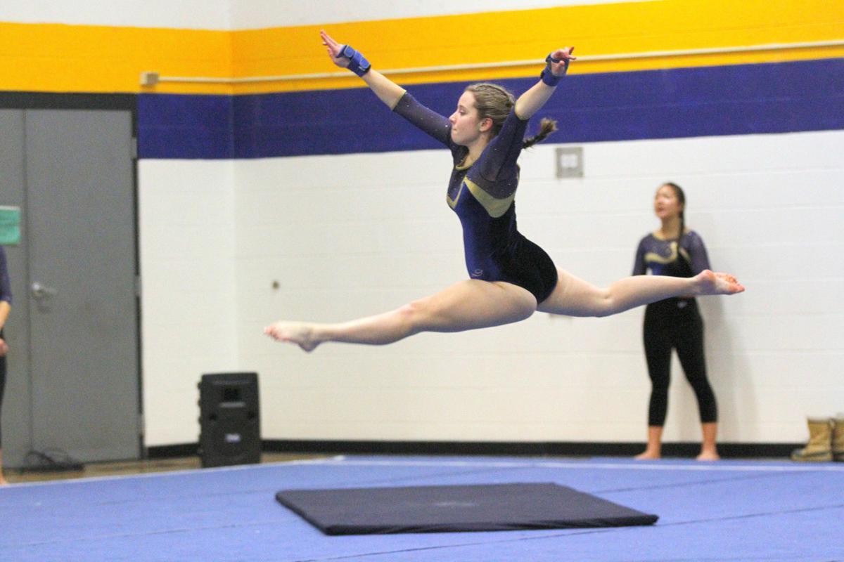 Hornet gymnastics picks up win at Milton