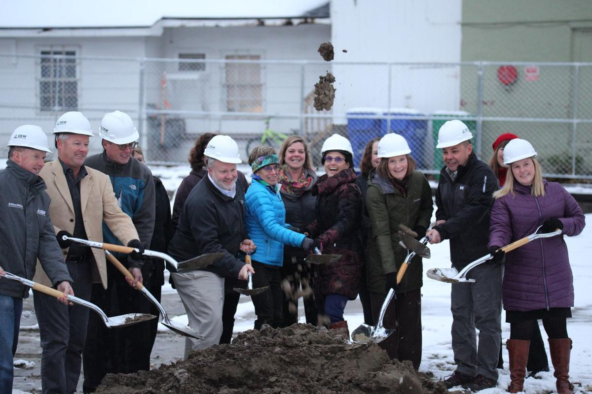 Breaking ground at Congress and Main
