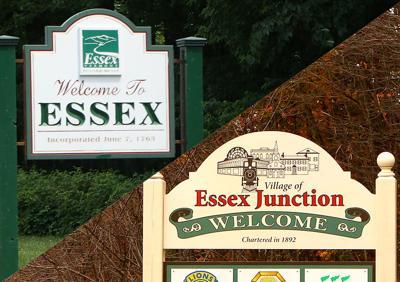 Essex town/village logos split