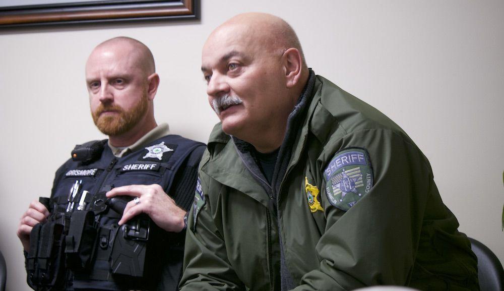 Sheriff Roger Langevin, 3-16-2020