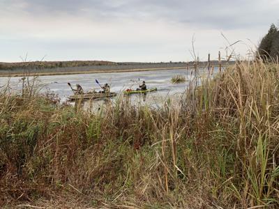 Fairfield Pond hunters