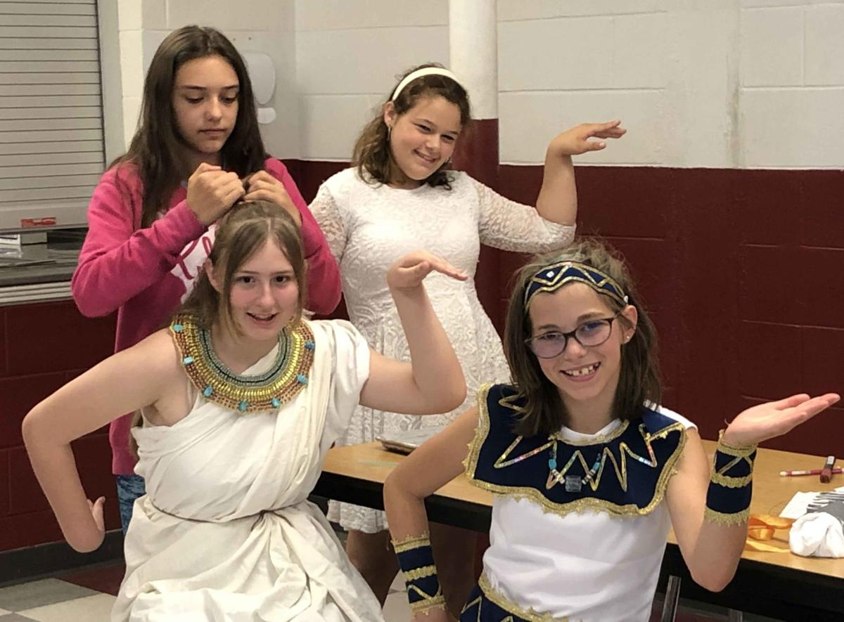 'A lot like us': Richford campers learn about Ancient Egypt